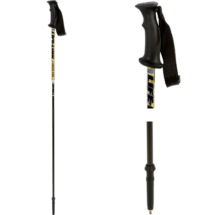 Life-Link Carbon Pro Ski Pole/Probe Black/Gold, 40-50