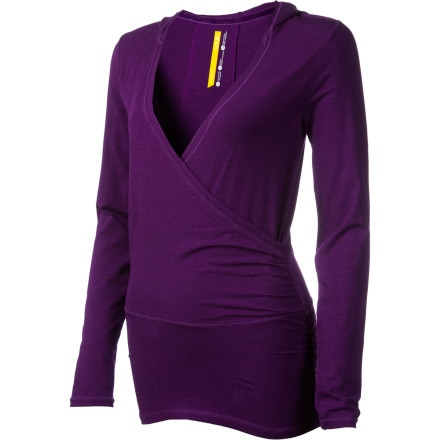 Lole Meditation 2 Hooded Tunic - Long-Sleeve - Women's Purple, XS