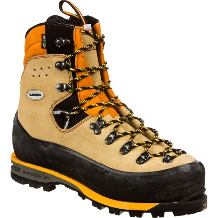 photo: Lowa Silberhorn GTX mountaineering boot