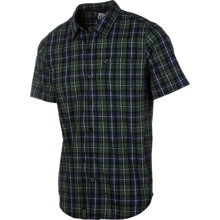 LRG Core Collection Plaid Woven Shirt - Short-Sleeve - Men's