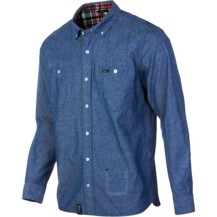 LRG Heartwood Chambray Shirt - Long-Sleeve - Men's