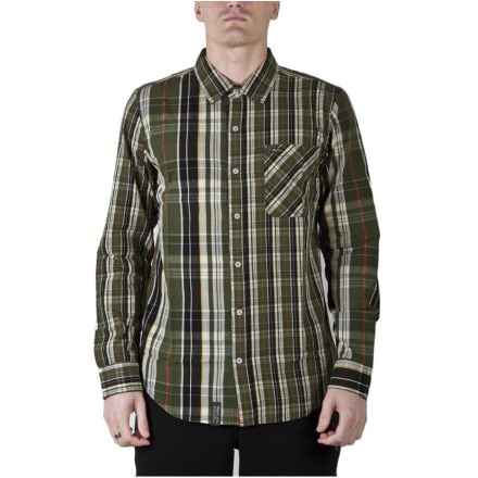 LRG Hier Learning Button-Down Shirt - Long-Sleeve - Men's