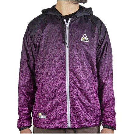 LRG Faded Grit Windbreaker - Men's