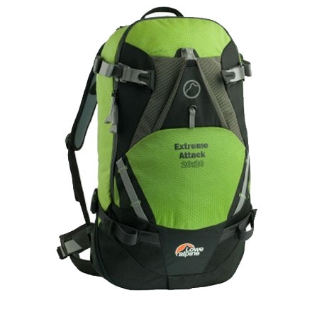 Lowe Alpine Extreme Attack 20+20 Backpack - 2400cu in