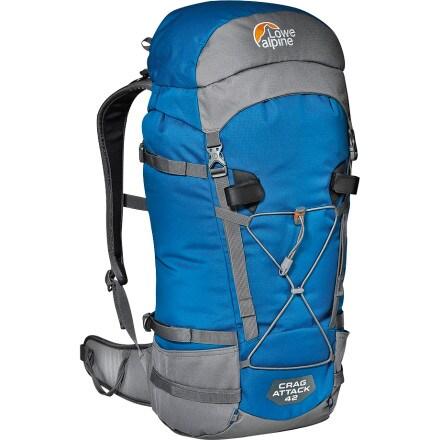 photo: Lowe Alpine Crag Attack 42 overnight pack (2,000 - 2,999 cu in)