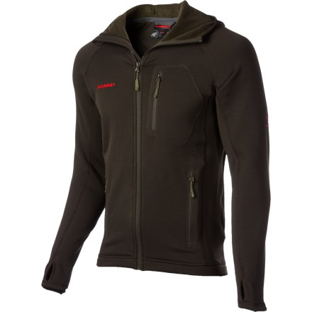 photo: Mammut Aconcagua Hoody fleece jacket