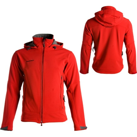 photo: Mammut Men's Ultimate Inuit Jacket soft shell jacket