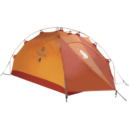 Marmot Alpinist Tent: 2-Person 4-Season