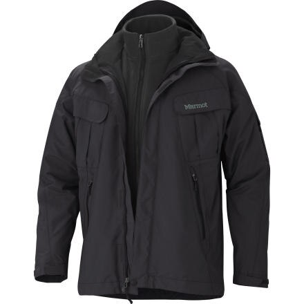 photo: Marmot Frontside Component Jacket component (3-in-1) jacket