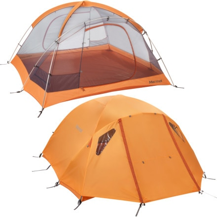 Marmot Hideaway 4-Person Tent w/ Footprint and Gearloft