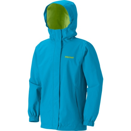 photo: Marmot Girls' Storm Shield Jacket