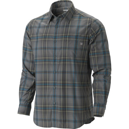 photo: Marmot Flagstone Long-Sleeve hiking shirt