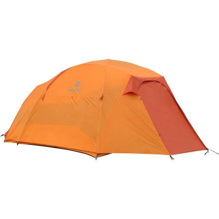 Marmot Capstone 6-Person Tent with Doormat and Hanging Organizer