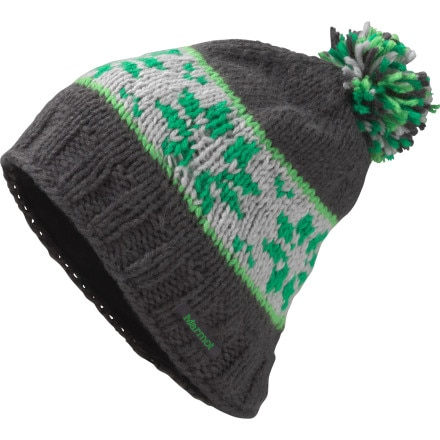 photo: Marmot Snowfall Pom Hat winter hat
