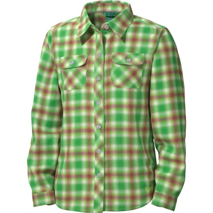 Marmot Southshore Flannel Shirt - Long-Sleeve - Girls'