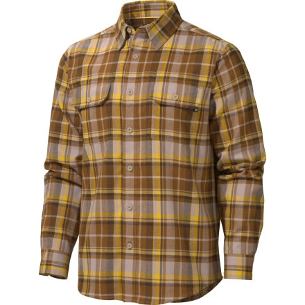 Marmot Bowls Flannel Shirt - Long-Sleeve - Men's