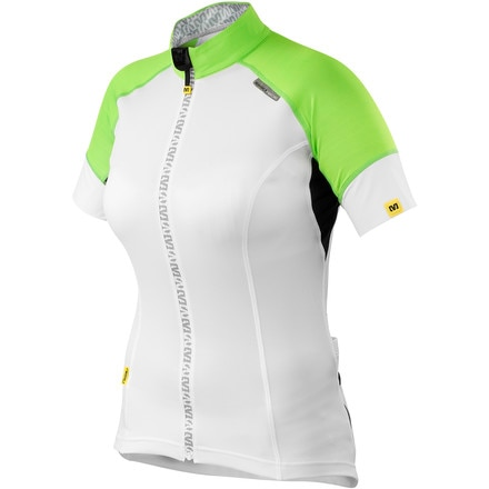 Mavic Athena Full-Zip Short Sleeve Jersey - Women's