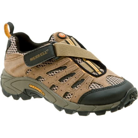 photo: Merrell Girls' Moab Ventilator trail shoe