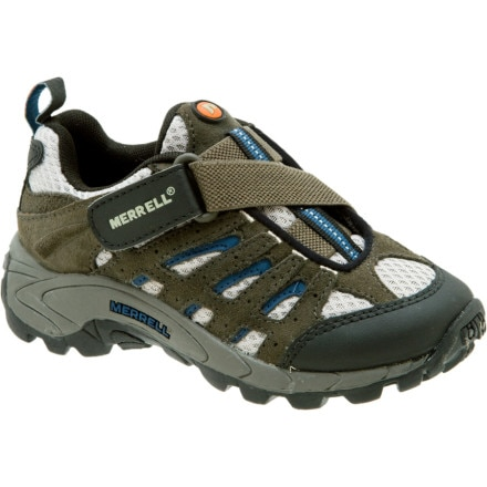 photo: Merrell Boys' Moab Ventilator trail shoe