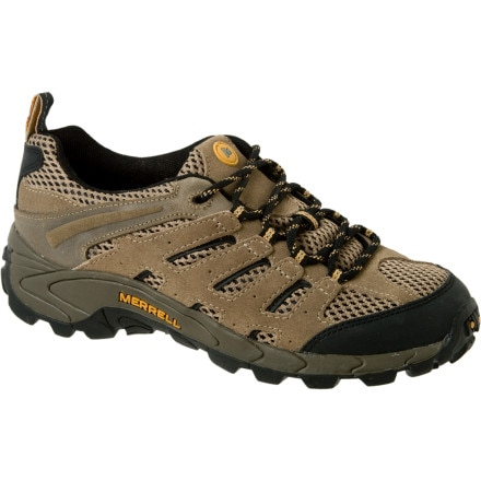 photo: Merrell Kids' Moab Ventilator trail shoe