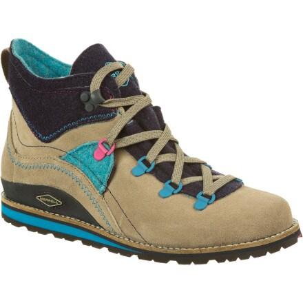 photo: Merrell Lazer Mid Origins hiking boot