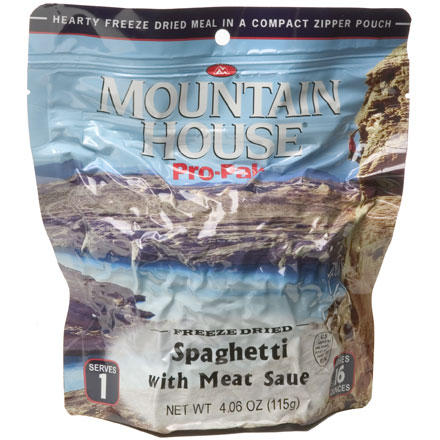 photo: Mountain House Pro-Pack Spaghetti with Meat Sauce