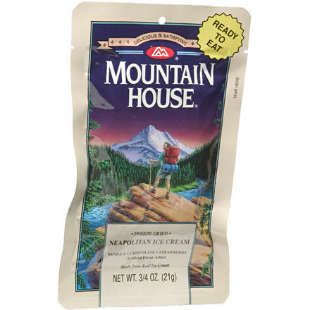 photo of a Mountain House dessert