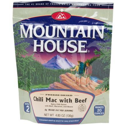 photo: Mountain House Chili Mac with Beef