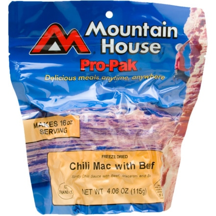 Mountain House Chili Mac w/ Beef - 1 Serving Entree