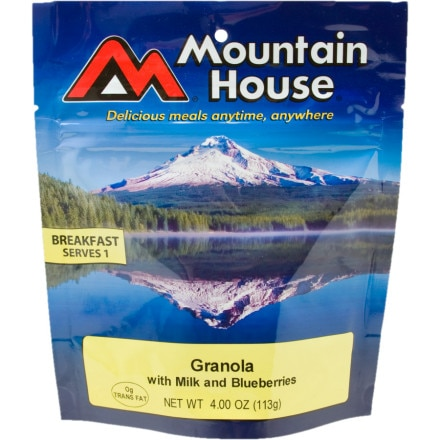 photo: Mountain House Granola with Blueberries &amp; Milk