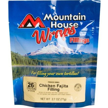 photo: Mountain House Chicken Fajita Wrap