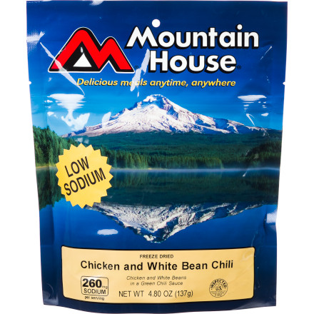 Mountain House Chicken & White Bean Chilli