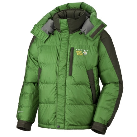 photo: Mountain Hardwear Sub Zero SL Hooded Jacket down insulated jacket