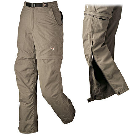 photo: Mountain Hardwear Women's Convertible Pack Pant hiking pant
