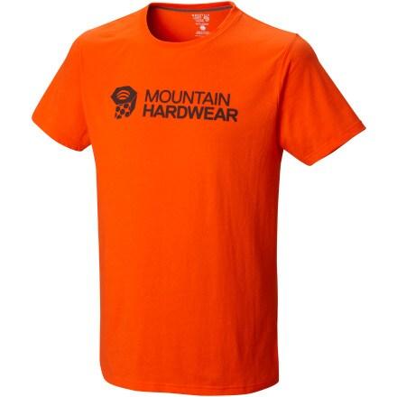 Mountain Hardwear Logo Nut T-Shirt - Short-Sleeve - Men's ...