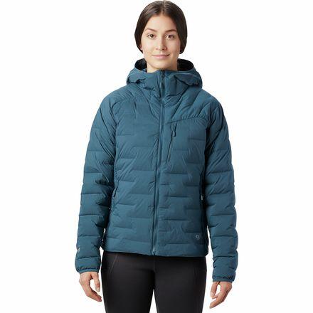 Super DS Stretchdown Hooded Jacket - Women's
