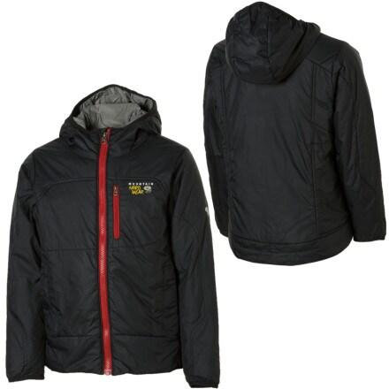 photo: Mountain Hardwear Boys' Hooded Compressor Jacket