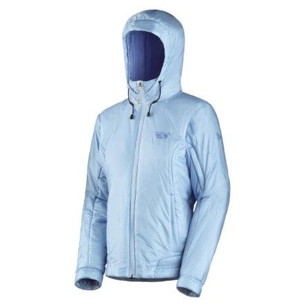 photo: Mountain Hardwear Women's Compressor PL Jacket synthetic insulated jacket