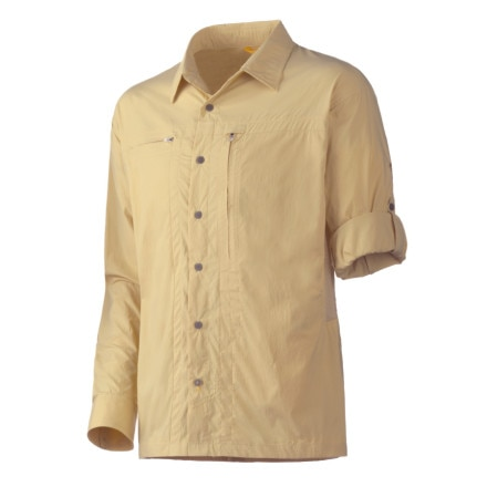 photo: Mountain Hardwear Ravine Long Sleeve Shirt hiking shirt