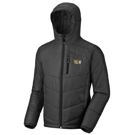 photo: Mountain Hardwear Hooded Compressor PL Jacket synthetic insulated jacket