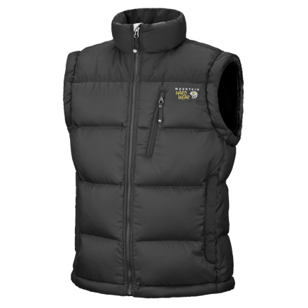 photo: Mountain Hardwear Sub Zero Vest down insulated vest