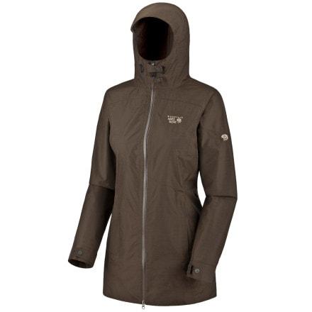photo: Mountain Hardwear Elara Coat waterproof jacket