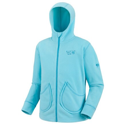 photo: Mountain Hardwear Girls' MicroChill Jacket fleece jacket