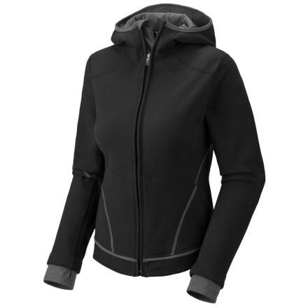 photo: Mountain Hardwear Buttafleece Hoody fleece jacket