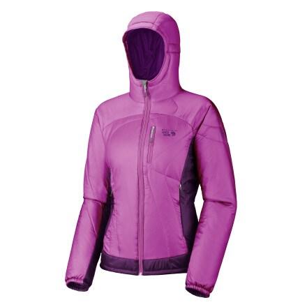 photo: Mountain Hardwear Women's Hooded Compressor Jacket synthetic insulated jacket