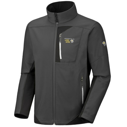 photo: Mountain Hardwear Brono Jacket soft shell jacket