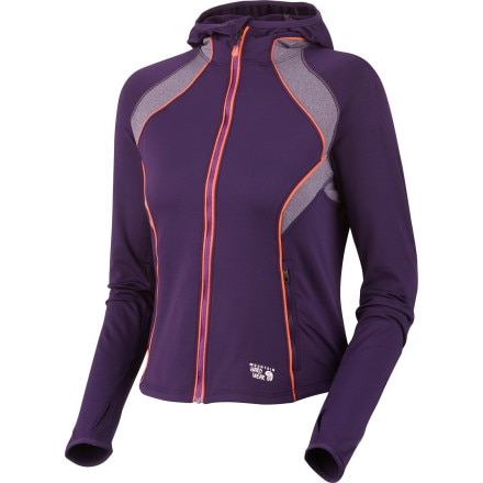 Mountain Hardwear Super Power Hooded Fleece Jacket - Women's