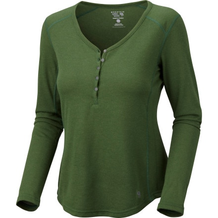 Mountain Hardwear Trekkin Thermal Henley - Long-Sleeve - Women's