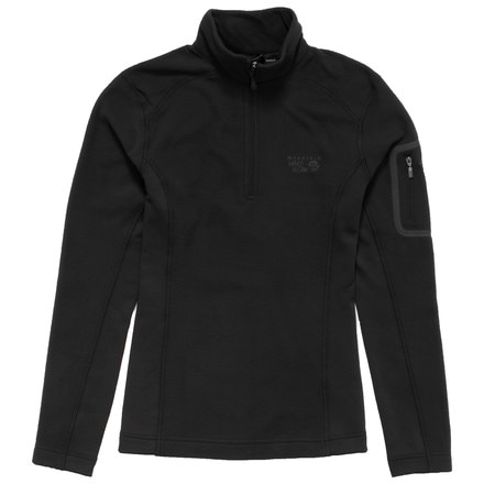 Mountain Hardwear Microstretch Zip Top - Long-Sleeve - Women's