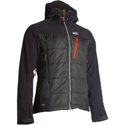 photo: Millet Belay Composite Jacket synthetic insulated jacket